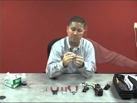 How To Use The Panduit Fiber Optic Termination Kit - Falcon Technologies, Inc.