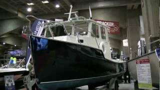 2012 Cape Island 21feet Trawler at 2012 Montreal Boat Show Salon du Bateau de Montreal