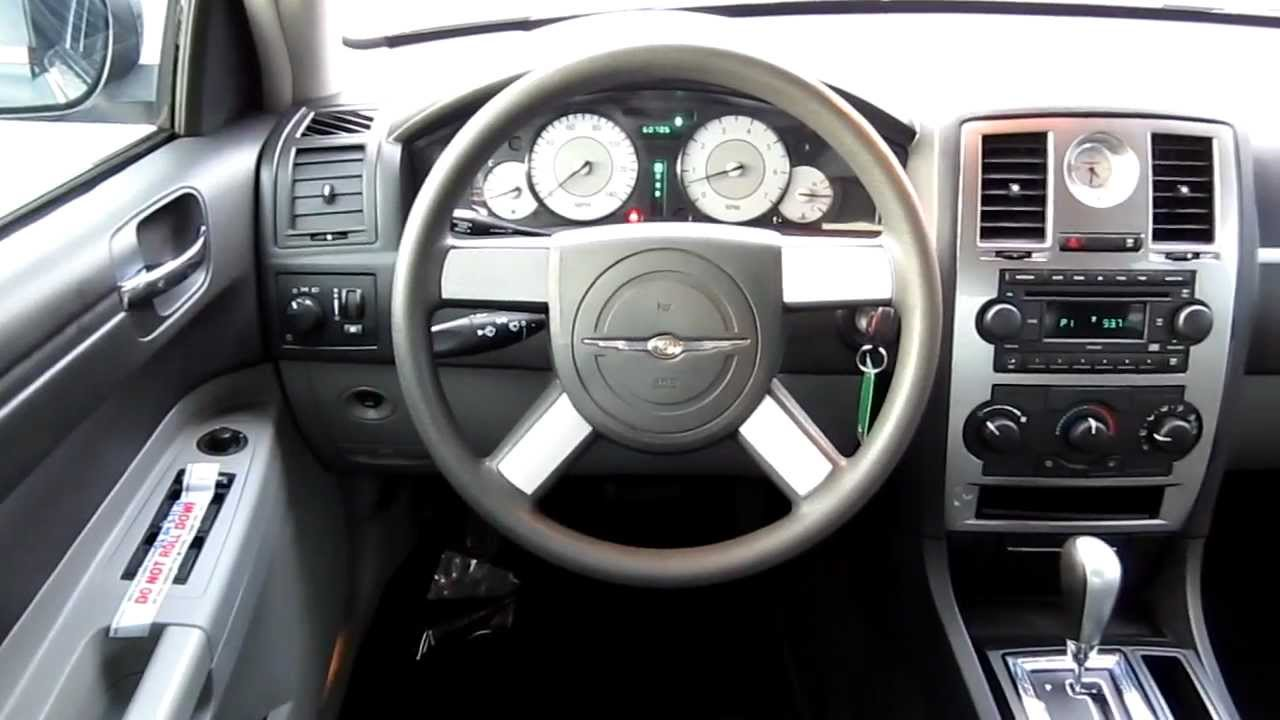 Worksheet. 2006 Chrysler 300 Touring black  Stock B2067  Interior  YouTube