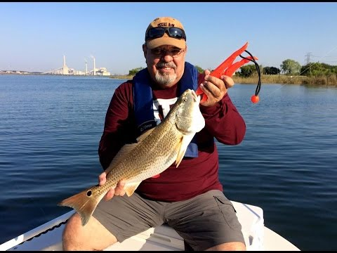 Calaveras lake redfish october 1st 2015 youtube for Calaveras lake fishing guides