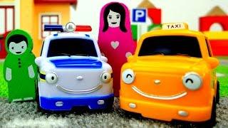 Мультики: Автобус Тайо! Нури - спасатель! Игрушки из мультфильма