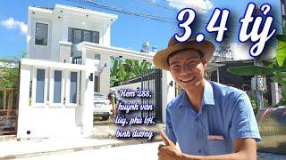 Nhà Đẹp Binh Dương - Khám Phá Nhà phố Tân cổ hẻm 288 đường Huỳnh văn Lũy, thủ dầu, bình dương.