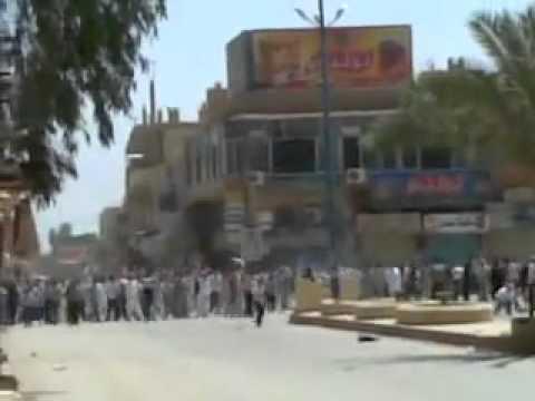 27.05.2011 : Dair az-Zaur - Abu Kamal ,  Schießen mit scharfer Munition auf die Demonstranten