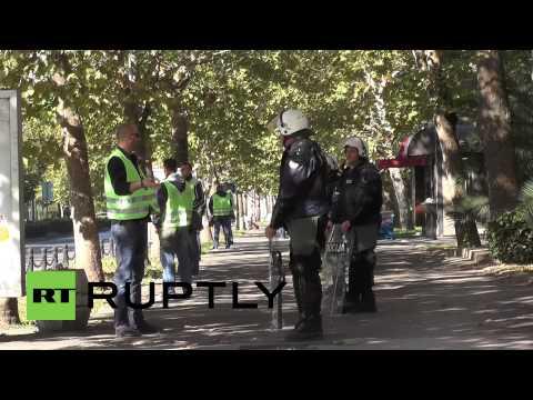 Montenegro: Riot Cops Braced For SECOND Gay Pride Parade