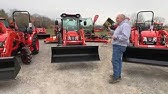 Removing and Installing a Kioti Tractor Loader - CK3510 SE CAB - YouTube