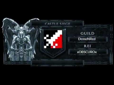 DemoNRed EaTROPA  - Castle Seiege Mu Reconnect X 29/09/18