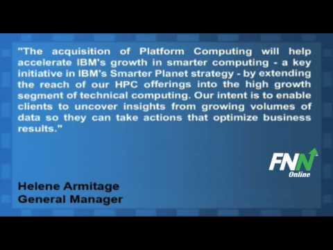 IBM Closes on Acquisition of Platform Computing