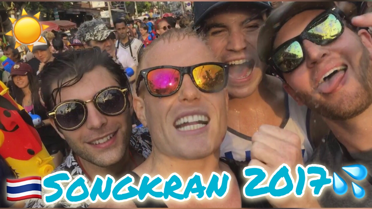 SONGKRAN 2017!! ? [EPIC PARTY CUT] Chiang Mai Thailand Water Festival & Nightlife @ Zoe Yellow C