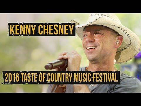 Kenny Chesney Revealed as 2016 Taste of Country Music Festival Headliner