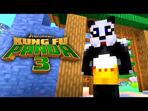 Kung Fu Panda 3 | MINECRAFT TRAILER