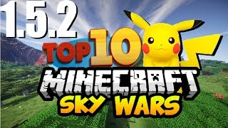 TOP 10 - SERVERS DE SKYWARS 1.5.2 PIRATA E ORIGINAL 2016/2017 PASTADEROPRETO