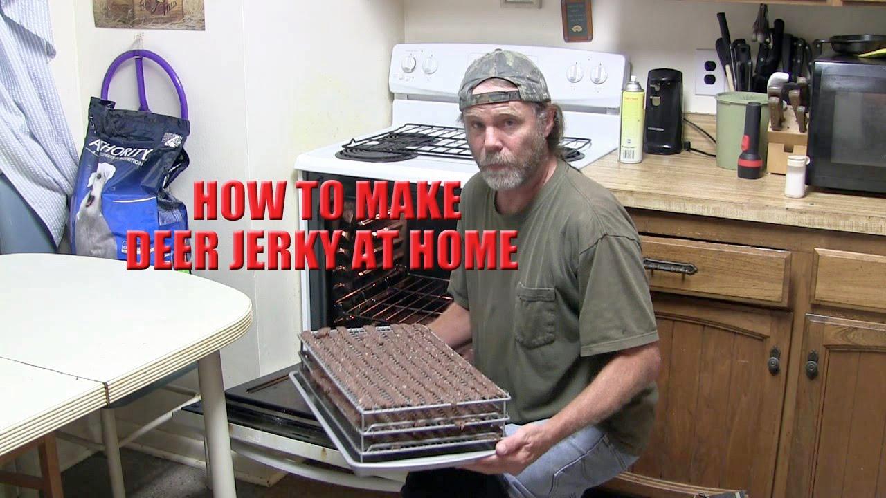 how to make venison jerky marinade