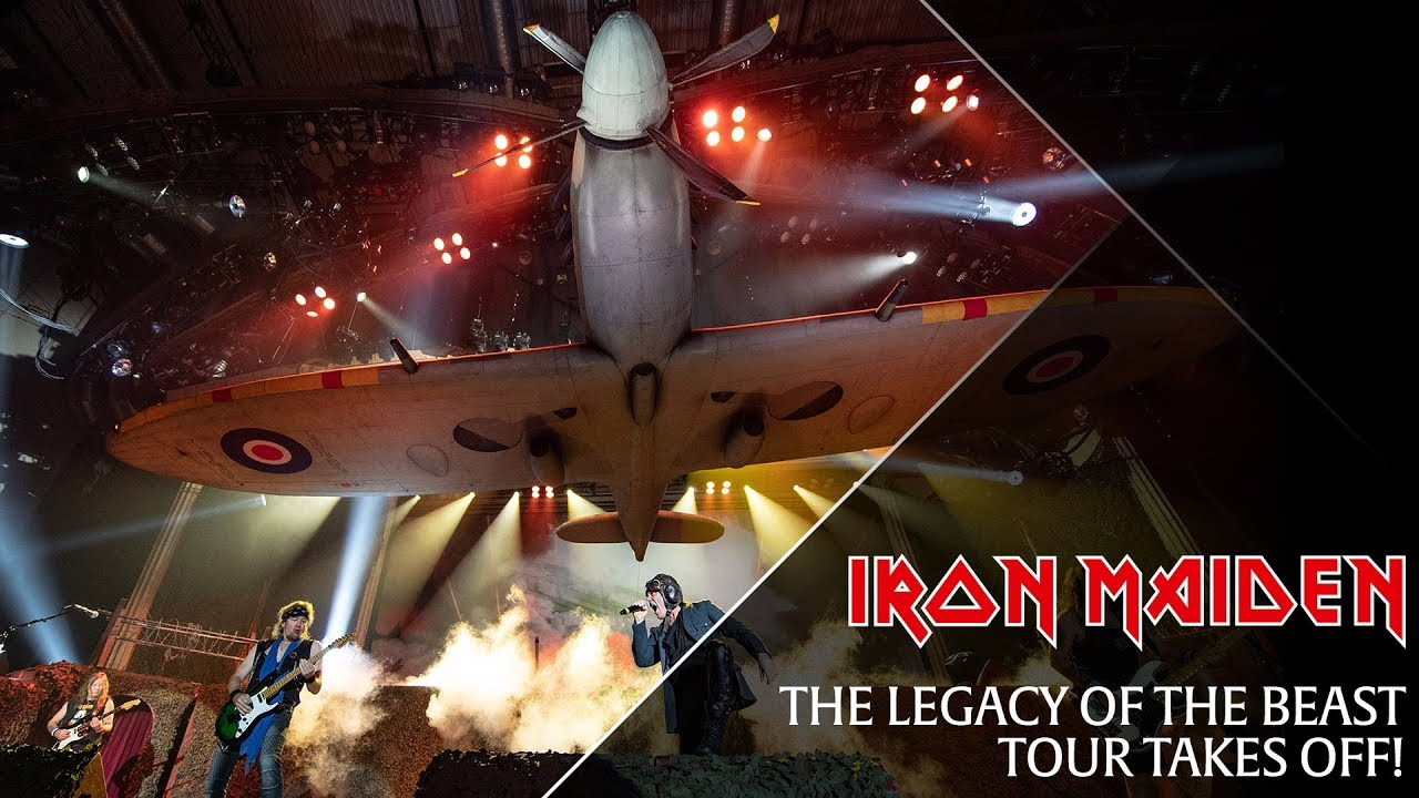 Iron Maiden First Night Of The Legacy Of The Beast Tour Youtube