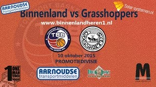 Binnenland Heren 1 vs Grasshoppers