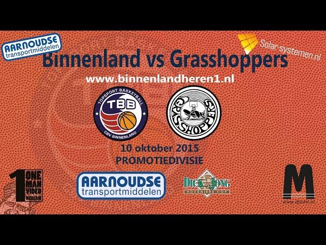 Binnenland Heren 1 vs Grasshoppers