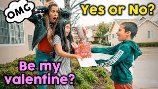 MY FIRST VALENTINES DATE! **JEALOUS MOM** | The Royalty Family