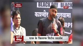 Real hero of nation is not actor or cricketer but our security personnel: Harbhajan Singh