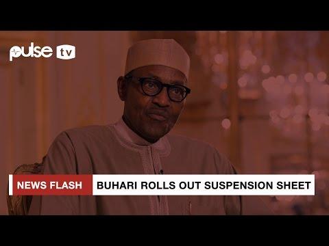 Buhari Suspends SGF Lawal, NIA DG to Allow Full Investigation | Pulse TV