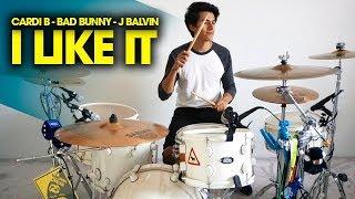 I LIKE IT - Cardi B, Bad Bunny, J Balvin | Drum Remix *Batería* Video