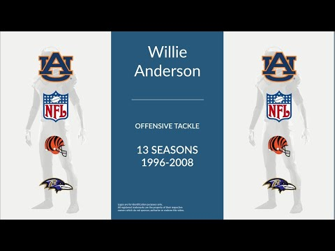 Willie Anderson: Football Offensive Tackle