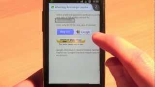 WhatsApp ohne Kreditkarte verlängern ‒ Android