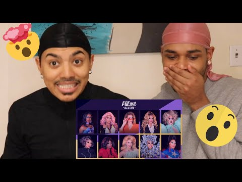RuPaul's Drag Race All Stars 5 RuVeal Reaction Video | TheOTHERcouple