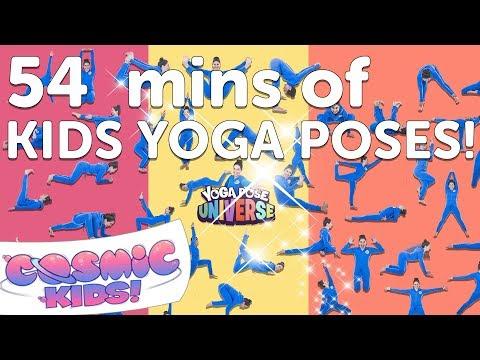 Kids Yoga Poses Compilation (54 minutes) | Cosmic Kids Yoga