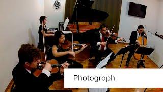 Photograph (Ed Sheeran) Quarteto de Cordas e Piano | Grupo Tomanik