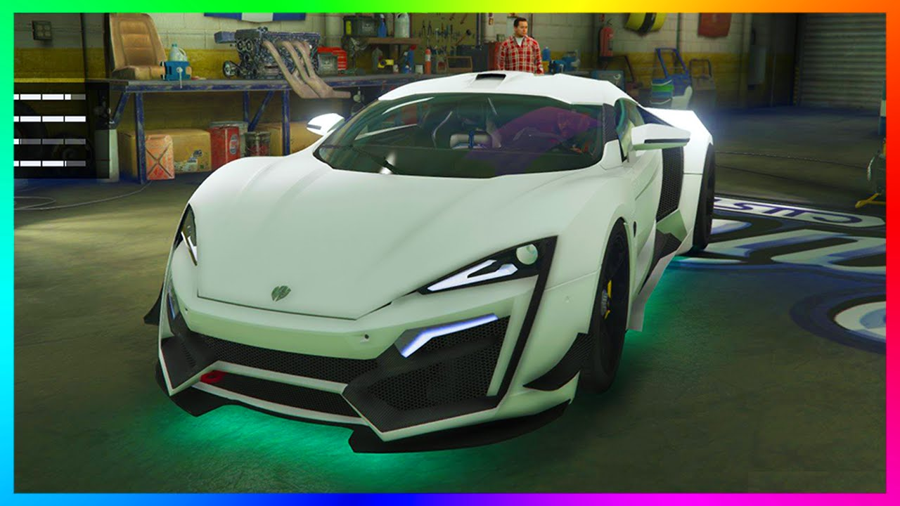 Gta How The Pegassi Reaper Super Car Might Look Perform