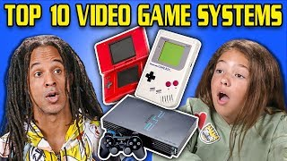 Gambar cover GENERATIONS REACT TO TOP 10 VIDEO GAME SYSTEMS OF ALL TIME