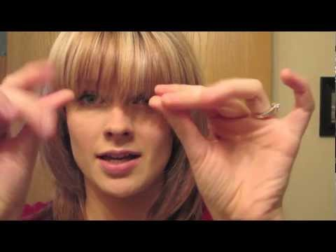 How to Cut and Style Bangs