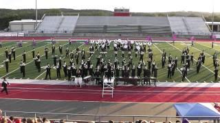 Tarleton State University Marching Band Exhibition Oct. 22, 2011 in Glen Rose, TX.
