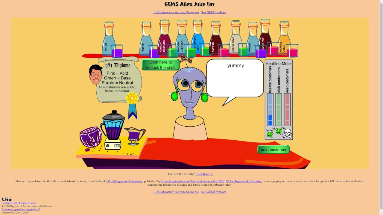 2017 Alien Juice Bar Stream Youtube