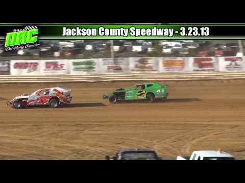 Jackson County Speedway :: 3.23.13 :: AMRA Modified Heat Races