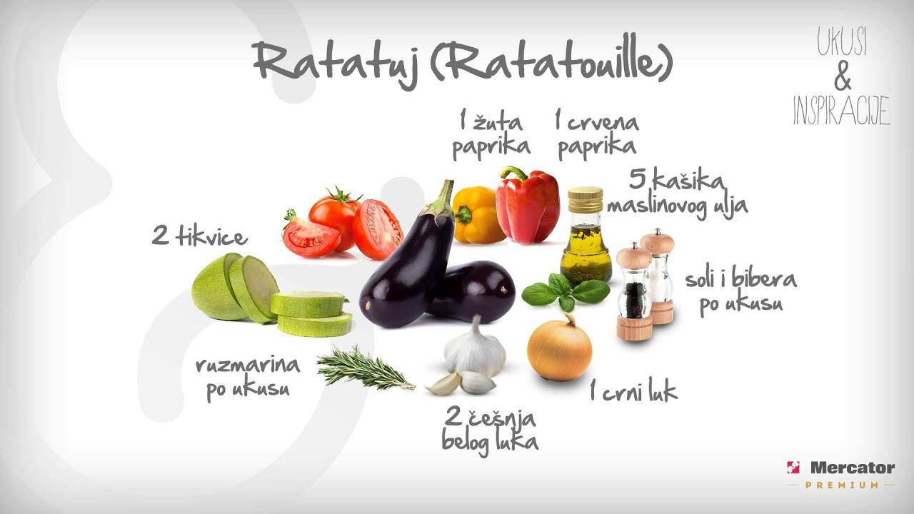 ratatouille recept