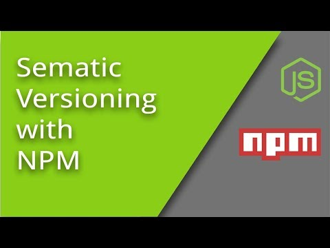 Semantic Versioning With NPM