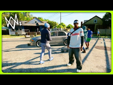 A DAY IN THE HOOD | Watch Dogs 2 Free Roam