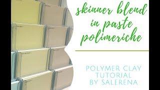 TUTORIAL #13 : skinner blend a tre colori