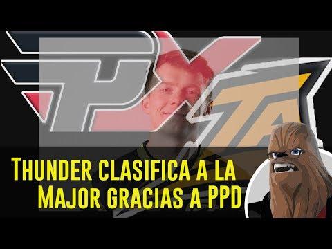 Thunder clasifica a la Major gracias a PPD