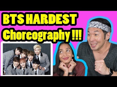 THE HARDEST BTS CHOREOGRAPHY REACTION!!