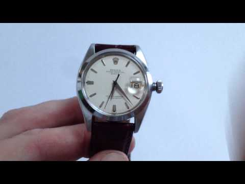 ROLEX vintage wristwatch, Oyster Perpetual 'Date' Ref. 1500, circa 1961