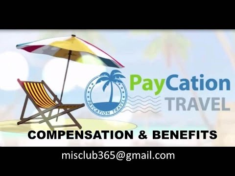 Paycation Travel Compensation Plan by Founder David Manning
