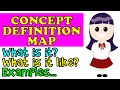 Vocabulary Development with a Concept Definition Map