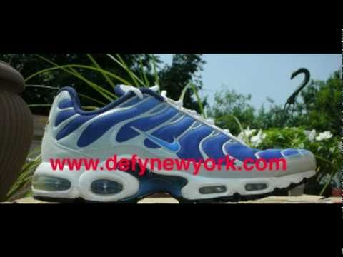 Nike Air Max Plus Original 2000 Original Blue Grey Review. DeFY New York  YouTube Channel cf8430d06