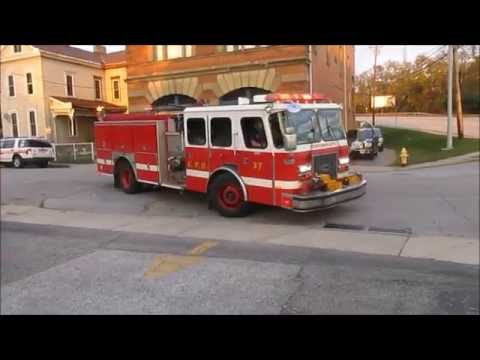 Cincinnati Engine 37 Responding