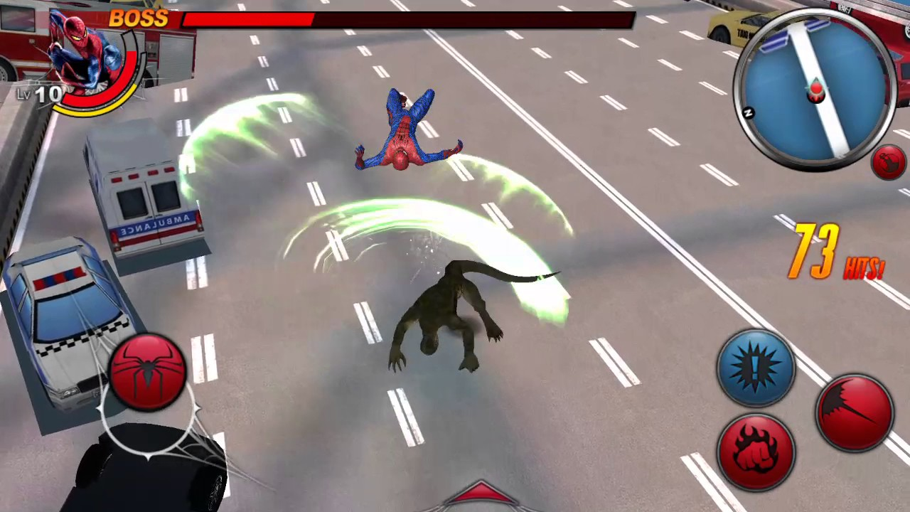 Amazing spiderman Android gameplay - YouTube