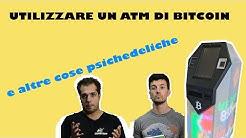 COME UTILIZZARE UN ATM DI BITCOIN IN ITALIA