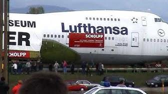 Jumbo-Jet Boing 747-230 geht in Rente nach Speyer