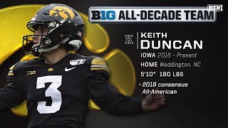 #BTNAllDecade Voters on Why Keith Duncan Is An All-Decade Team Selection | Big Ten Football