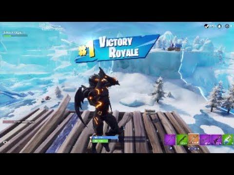 My First Season 7 Win New Umbrella Fortnite Battle Royal Youtube